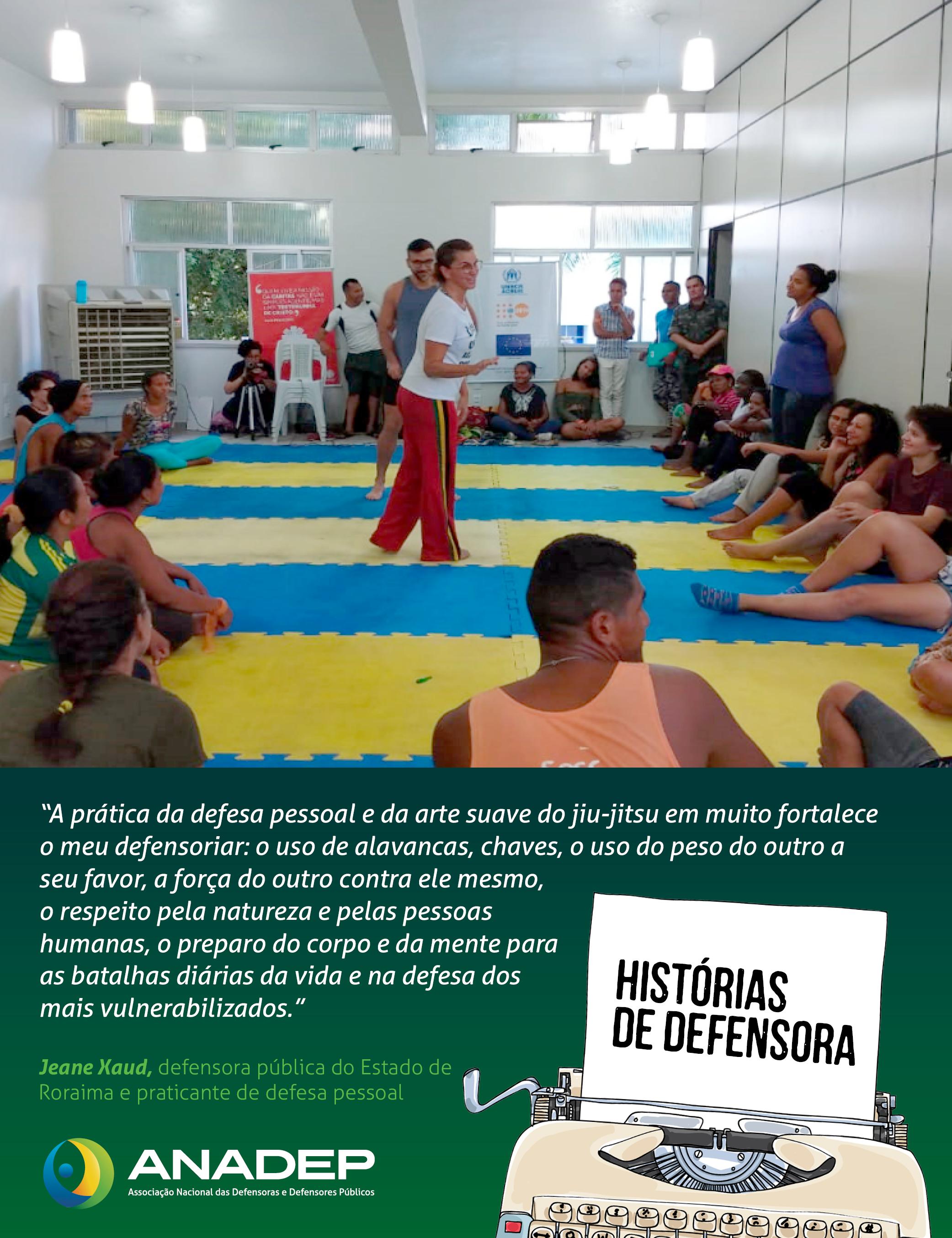 HISTÓRIAS DE DEFENSORA: Jeane Magalhães Xaud é destaque na ANADEP